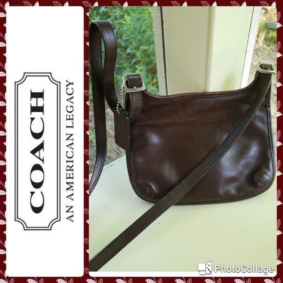 Coach Handbags - Vintage coach crossbody